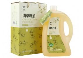 有机山茶油5L 低温冷榨 有机食用油物理压榨食用油月子油 食用油 出口品质 礼盒装 安徽特产