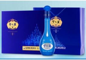 洋河蓝色经典 梦之蓝M6 52度 礼盒装 500ml*2瓶白酒 口感绵柔浓香型