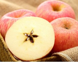 烟台红富士苹果 4个 一级铂金果 单果160-190g 简装