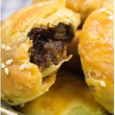 安徽梅菜酥饼徽州特产糕点心小吃